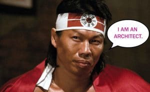 bolo yeung is not an architect