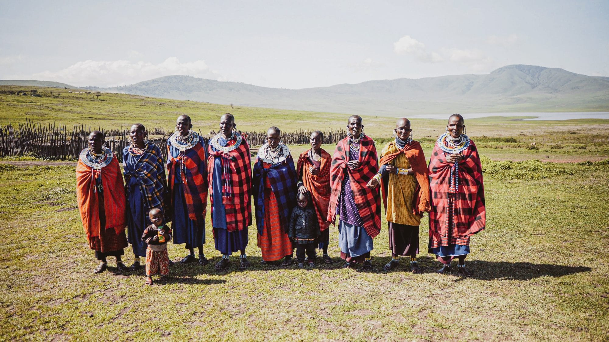 maasai tribe womean
