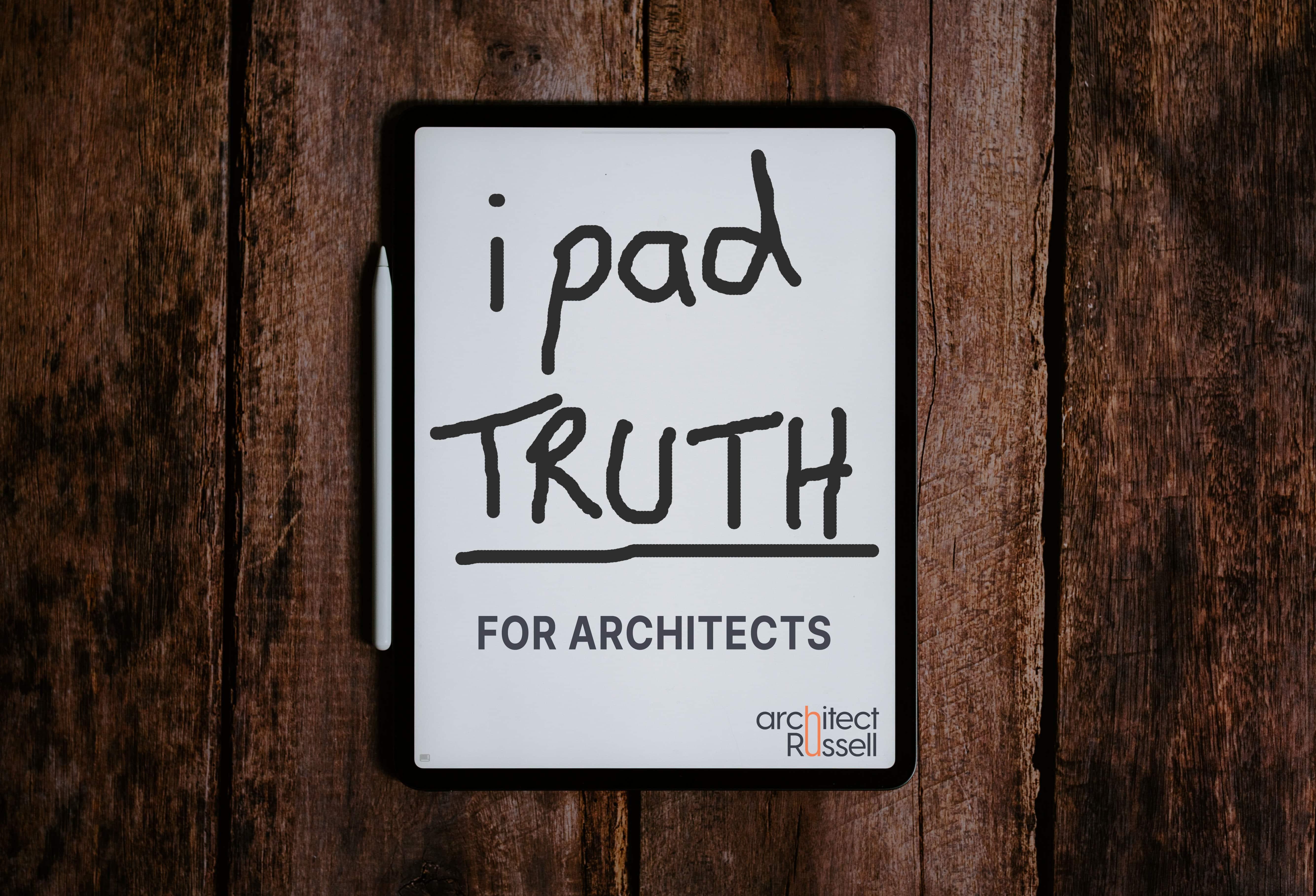 Ipad for architects